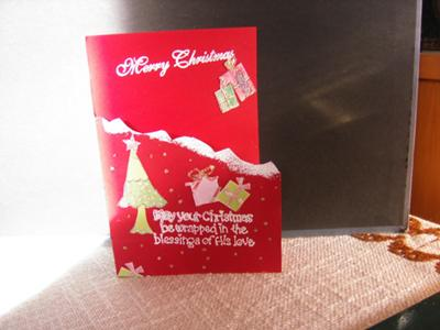 Snow Capped Mountains - A Merry Christmas Card