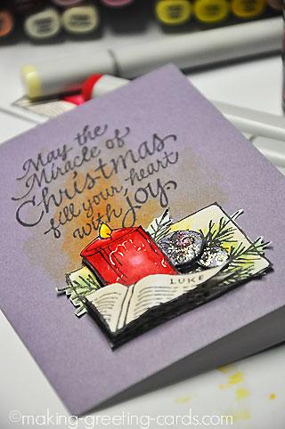 Merry Christmas Card - A Christmas Craft