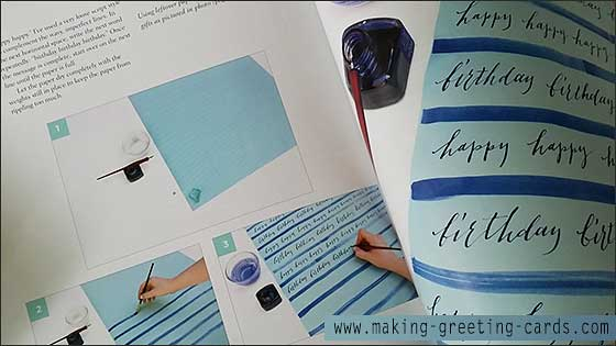 cardmaking books/Modern Calligraphy