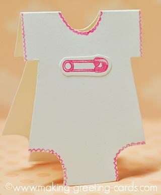 baby safety pin onesie