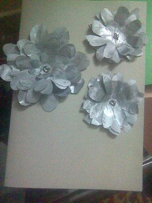 Paper Flowers Card