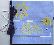 paperbag greeting card