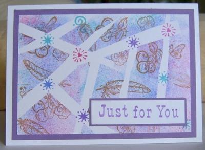 Handmade Patchwork Card