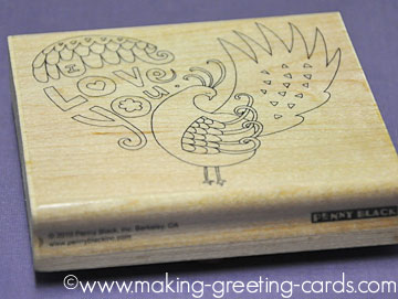 Penny Black Rubber Stamp
