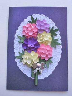 Paper Punch Craft Card