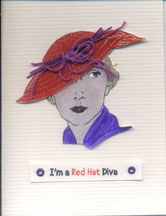 red hat cards/I'm a Red Hat Diva