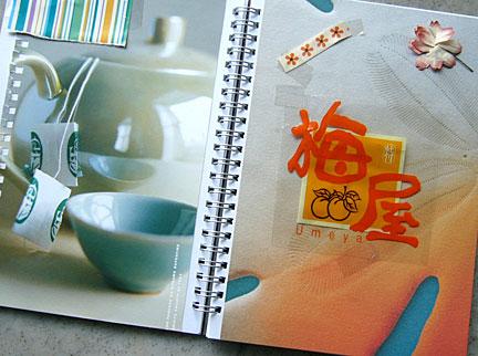creating colour scrapbook