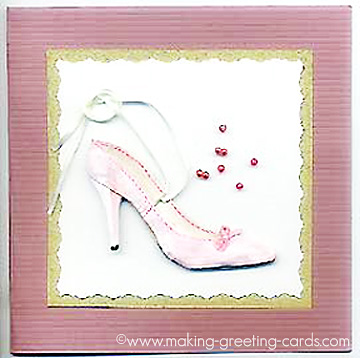 shoe card/Shoe Card with Template