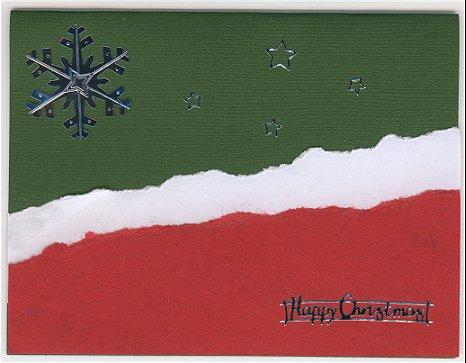 Ying's Snowflake Christmas Card