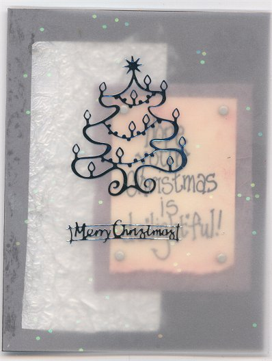 Ying's Vellum Christmas Card
